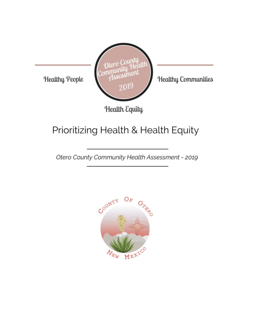 Otero County - Community Health Assessment - cover page