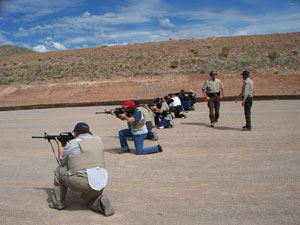 Gun Range Training